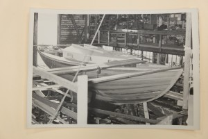 Blanchard 33 #9 under construction, 1951. Credit MOHAI